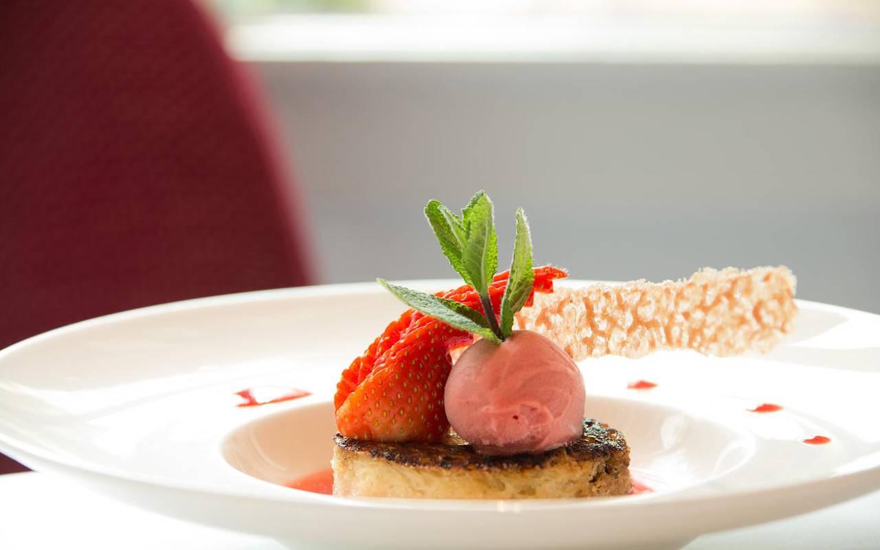 Dessert sucré restaurant loire