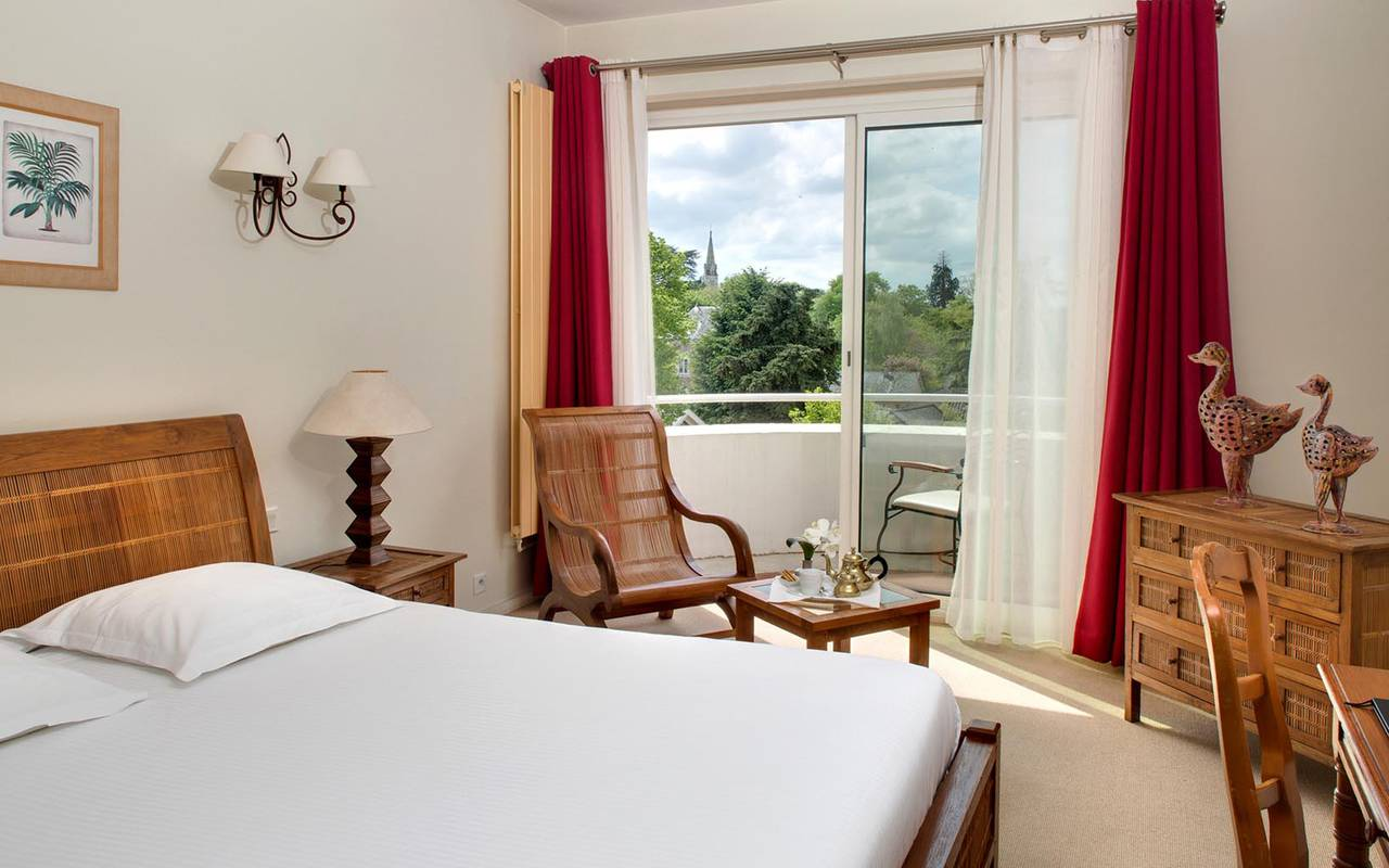 Agréable chambre hôtel Sablé-sur-Sarthe 3 étoiles