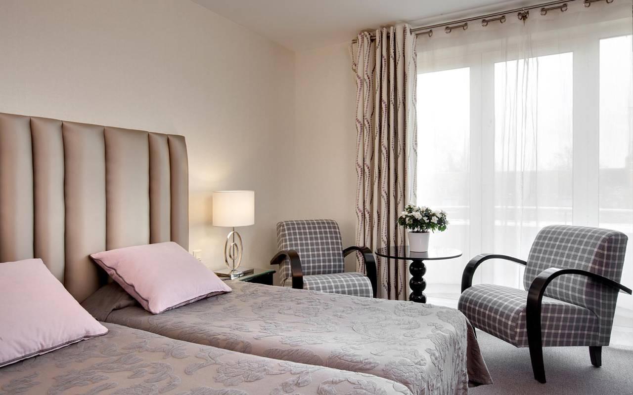 Solesmes hôtel 3 étoiles Sarthe confortables chambres